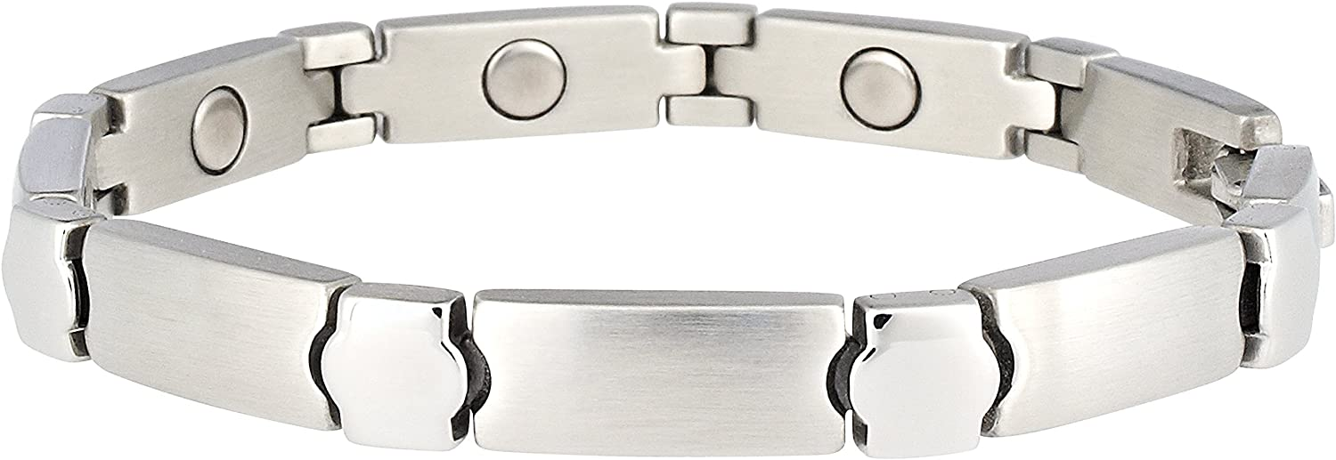Sabona Lady Stainless Elegance Magnetic Bracelet, Small, 0.05 Ounce