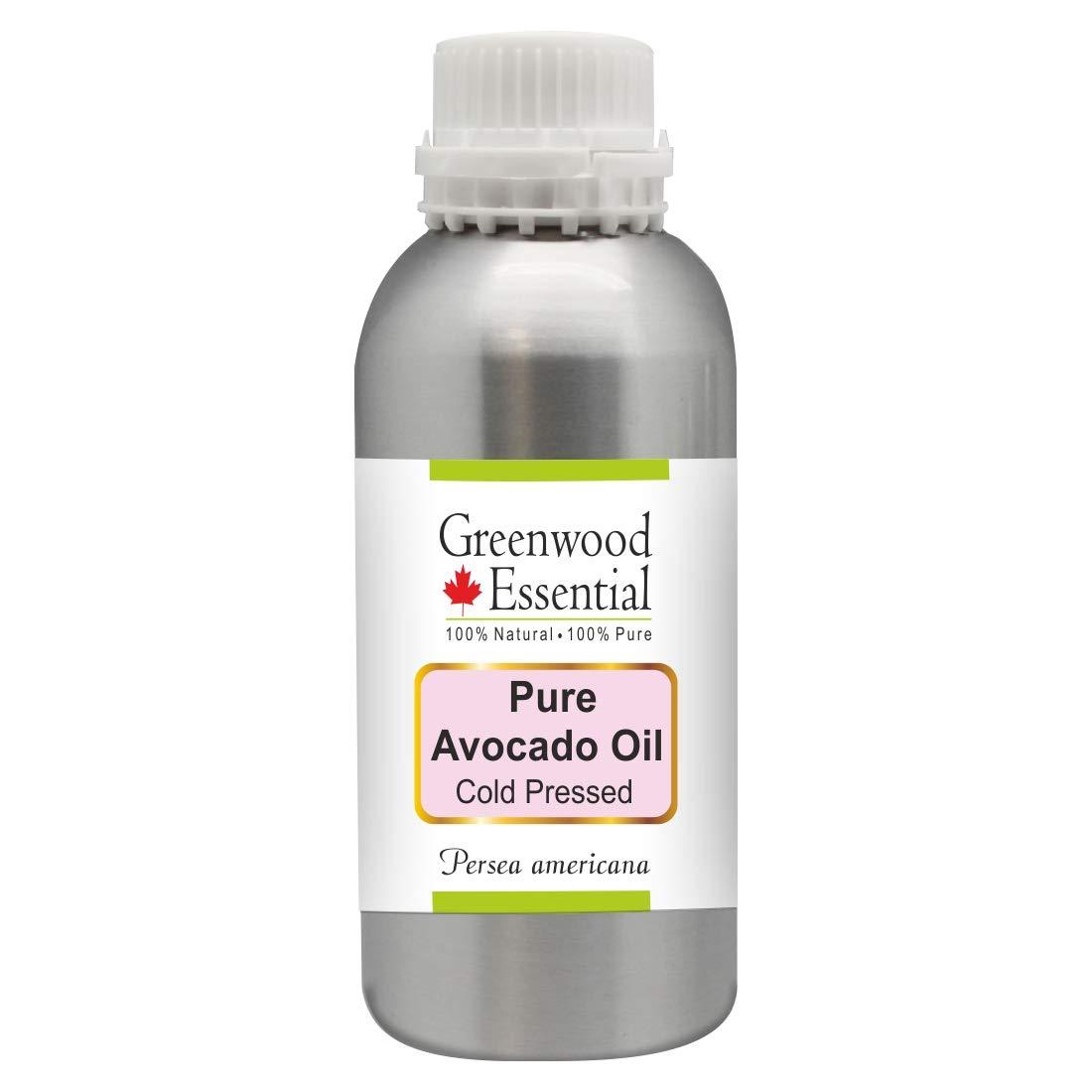 Greenwood Essential Pure Avocado Oil (Persea americana) Premium Therapeutic Grade for Hair, Skin 1250ml (42 oz)