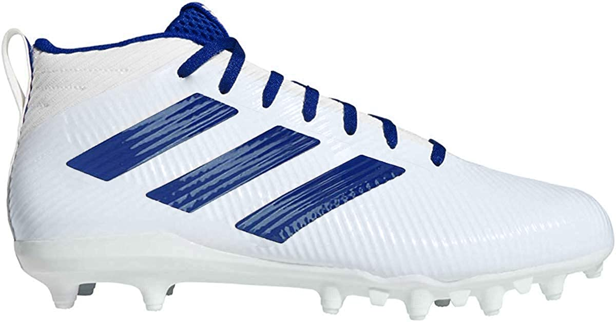 adidas Freak Ghost TPU Men's Football 9 D(M) US White-Royal Blue
