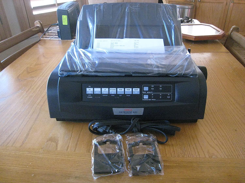 OKI91909703 - Oki Microline 420 Serial Narrow-Carriage 9-Pin Dot Matrix Printer