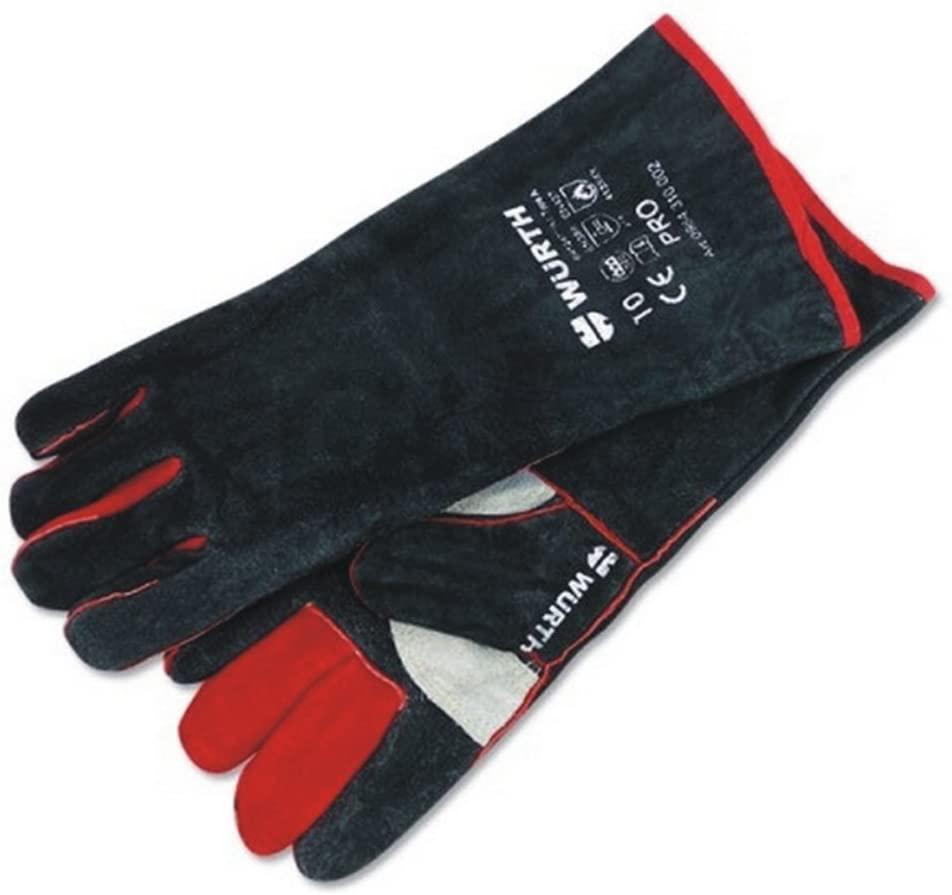 WURTH Welding Wild Animal Handling Gardening Barbecue Grill Glove
