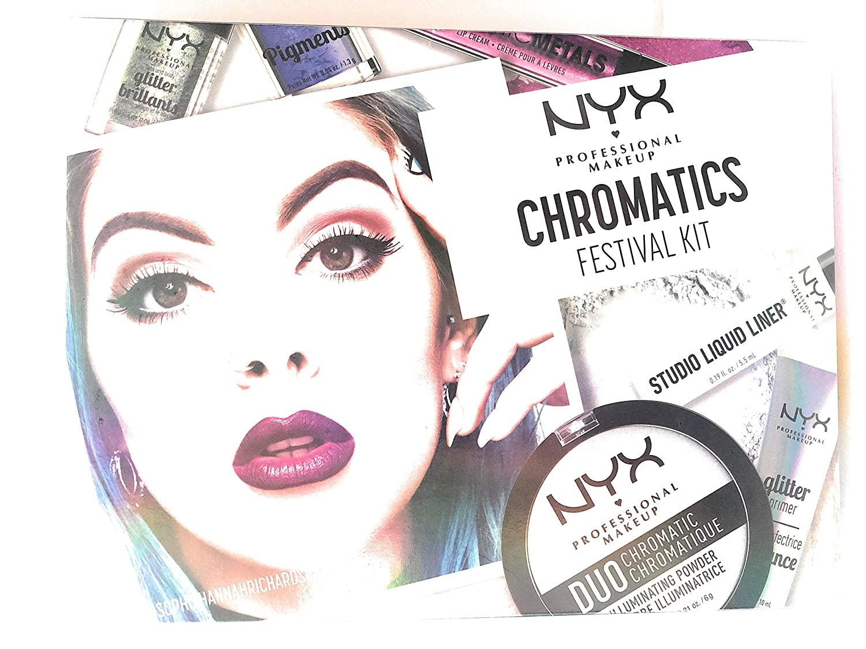 NYX Chromatics 5pc Festival Kit