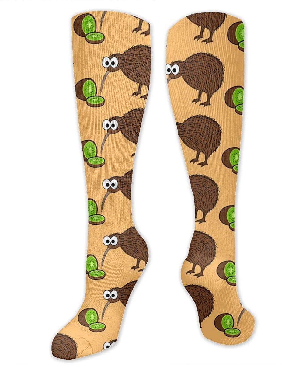 Kiwi Bird. Unisex Long Socks Comforable Knee High Stockings