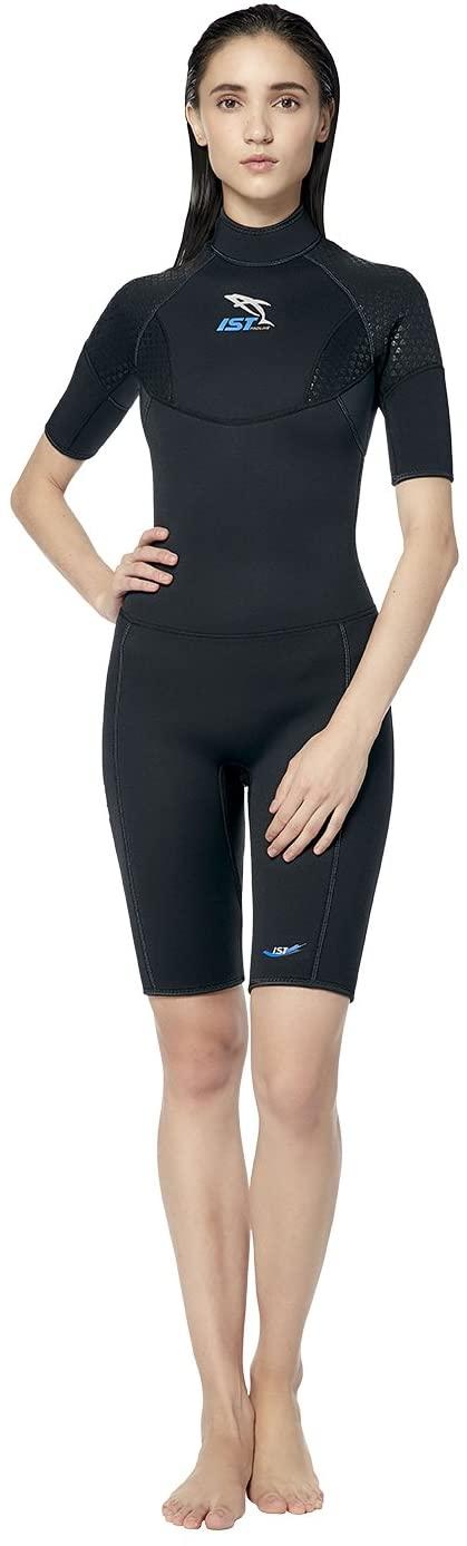 IST 3mm Neoprene Shorty Wetsuit for Men and Women