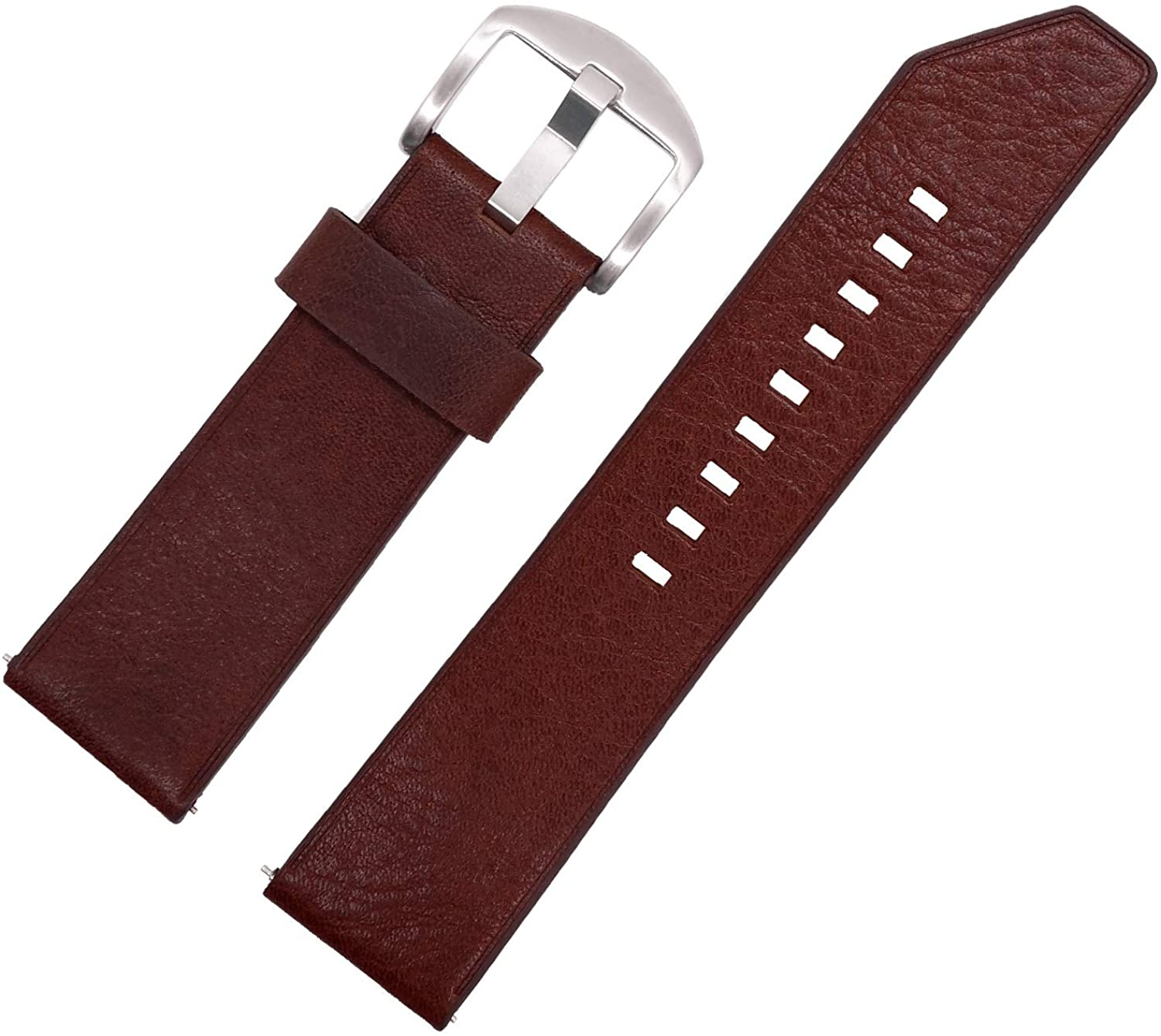 Time4best Straps Mens Watches Womens Watches Leather Strap Watch Quick Release Watch Bands Leather Bracelet 20mm 22mm 24mm