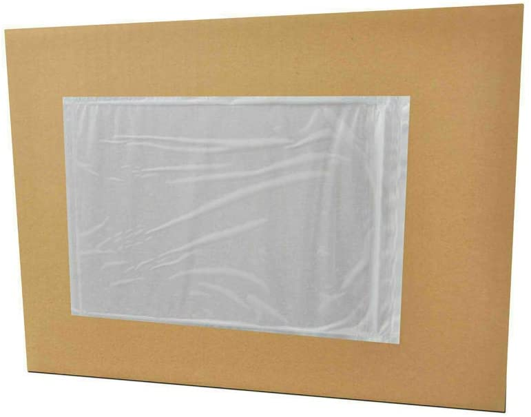 Clear Packing List Envelopes 5.5