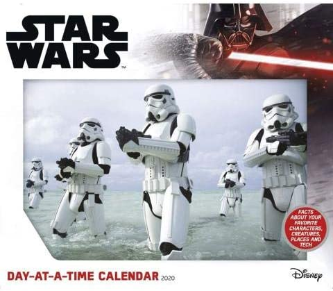 2020 Star Wars 365 PAGE-A-DAY DAILY Desk CALENDAR