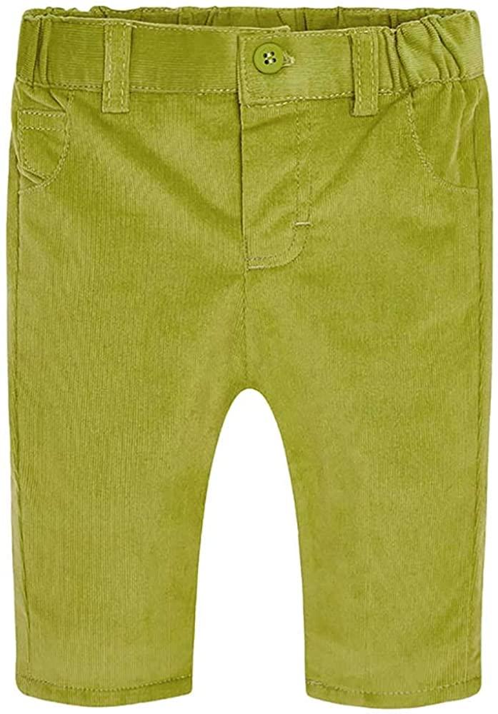 Mayoral Boys Green (Guacamole) Soft Corduroy Pants