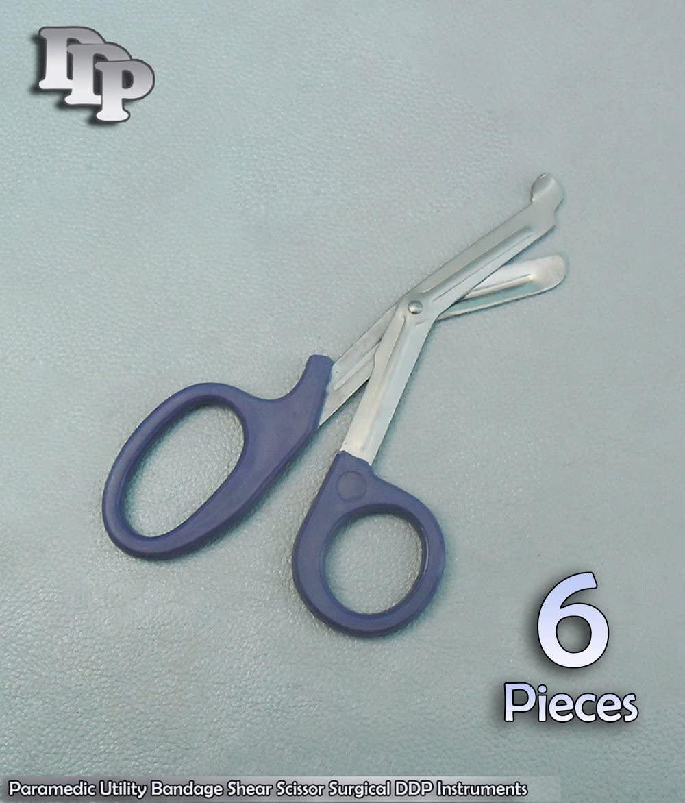6 Pieces Of Paramedic Utility Bandage Shear Scissor 5.5