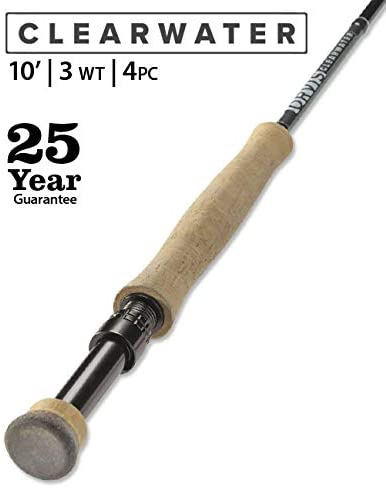 Orvis Clearwater 3-Weight 10' Fly Rod