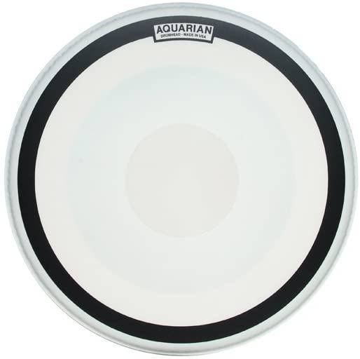Aquarian Drumheads IMPIII26 Impact III Single Ply 26-inch Bass Drum Head, with Dot