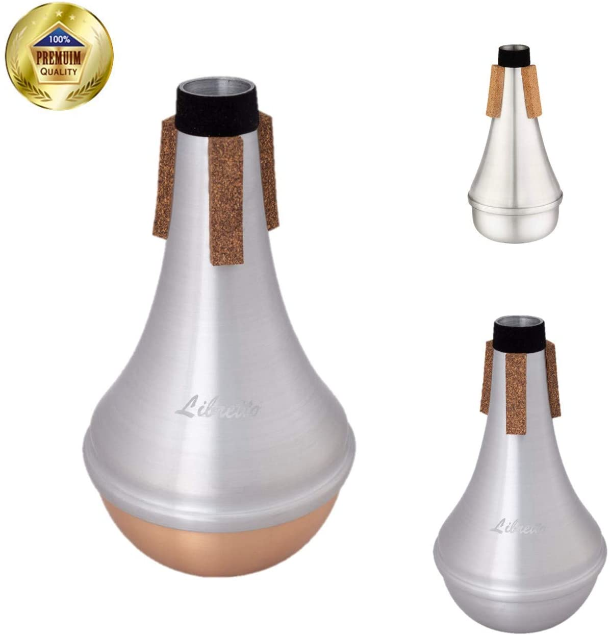 Libretto Trumpet Mute Special Bundle: AC011-1+ AC011+AC011-3, Excellent For Stage Performance!