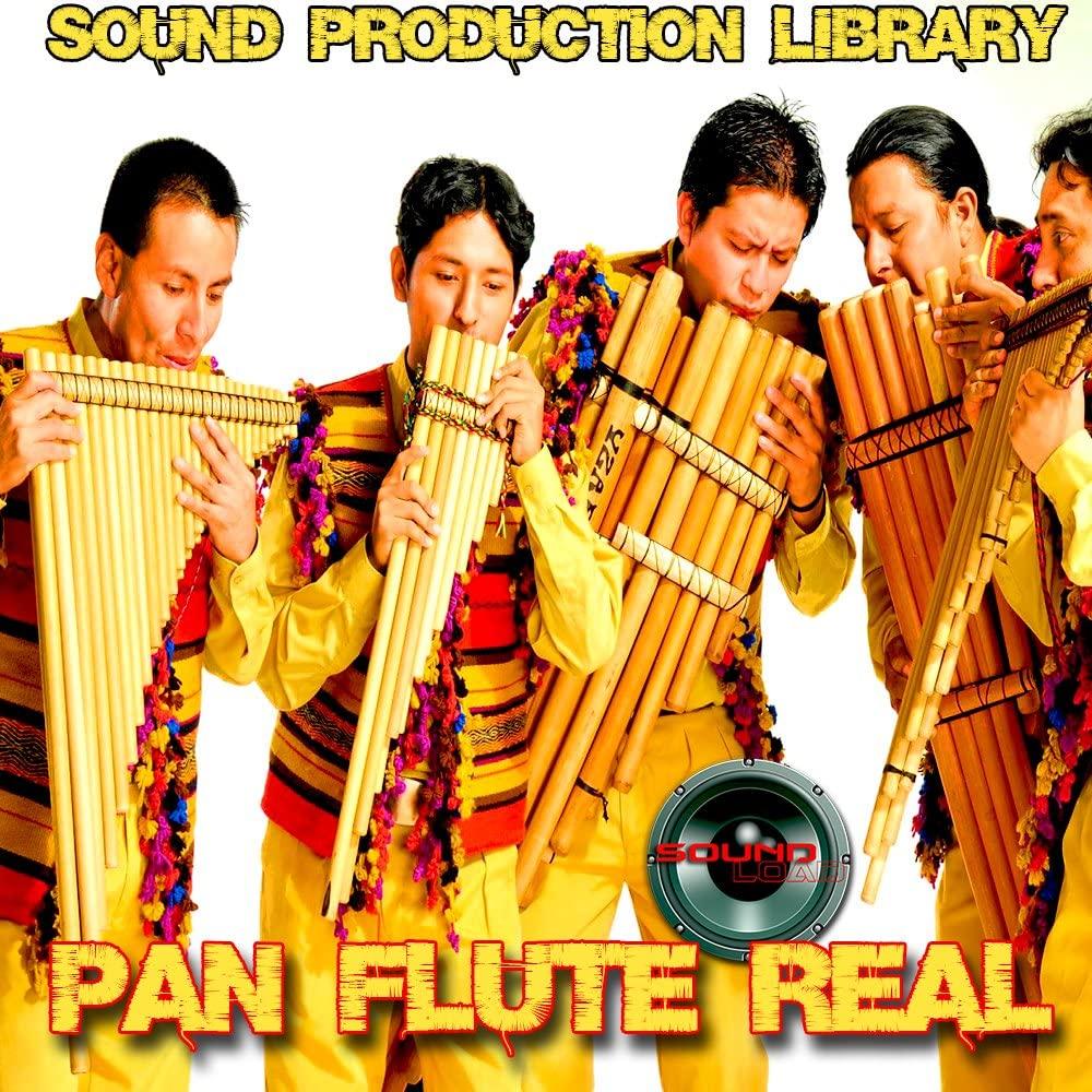 PAN FLUTE REAL - HUGE Unique Original 24bit Multi-Layer Samples Library on 2 DVD or download