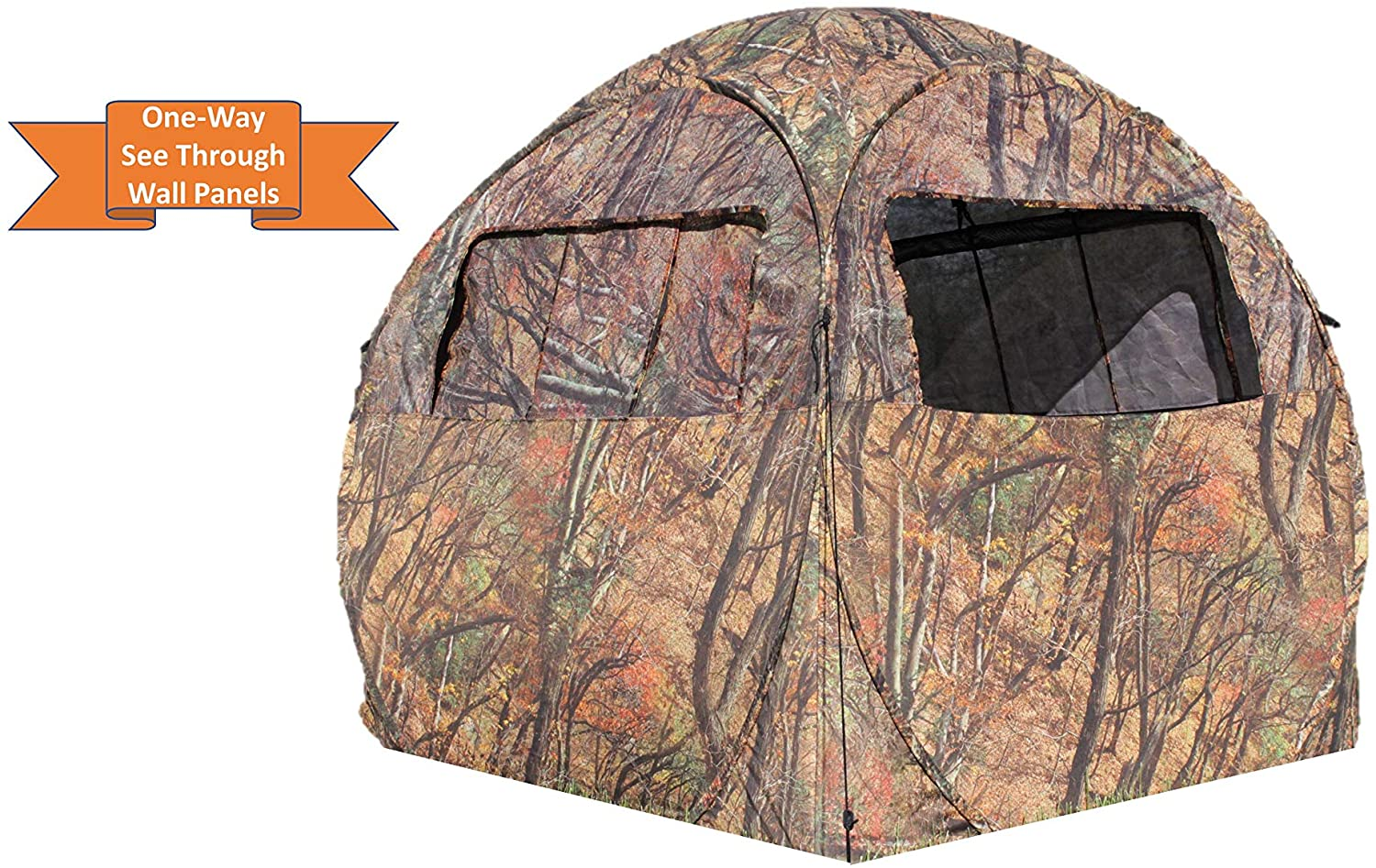 ALPHA CAM Pop-up 270 Degree One-Way See-Through Hunting Blind
