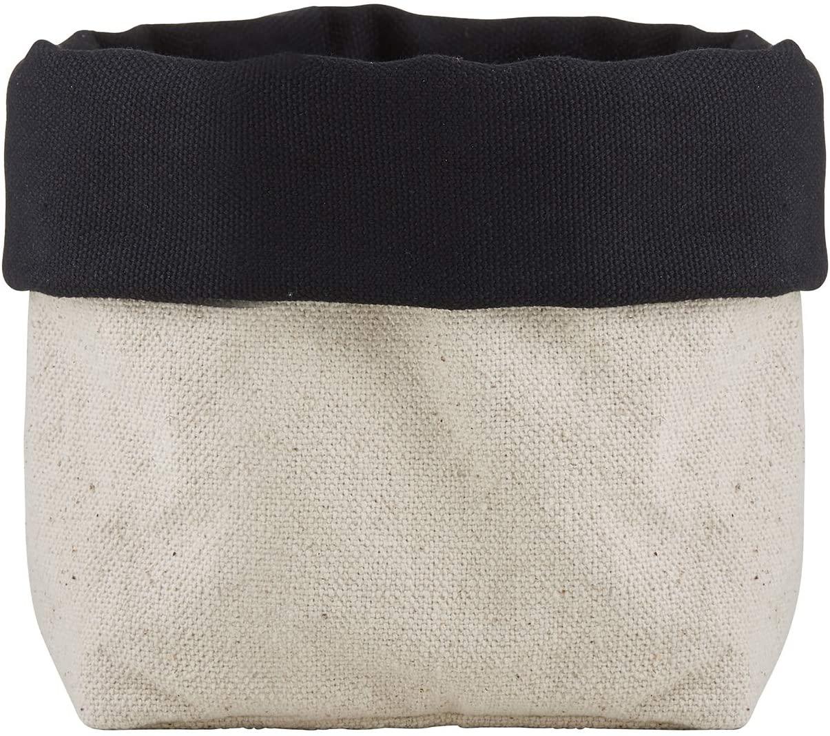 SB Design Studio Table Sugar Reversible Fabric Bread Basket, 7