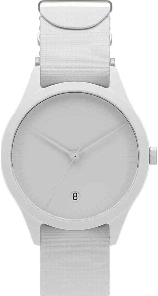 TMRW Minimalist Watch | Nylon Watch Band - Bone
