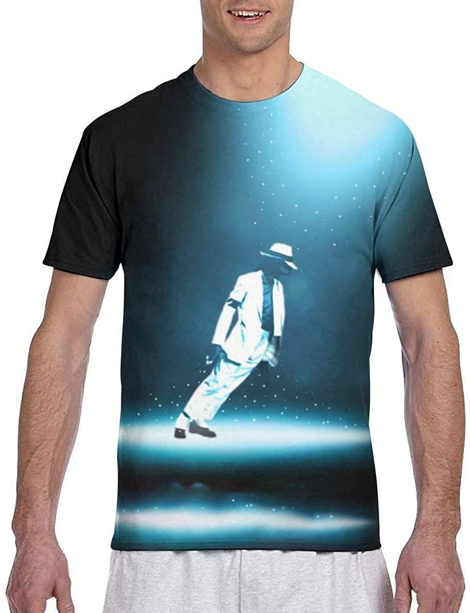 Michael-Jackson Men Fashion Summer T-Shirts Casual Crewneck
