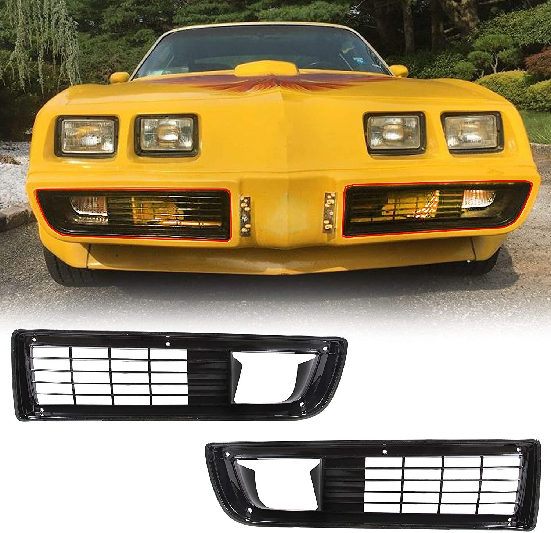 New Grilles Set W/Fitting Kit For 1979-1981 Pontiac Firebird/Trans Am - Pair