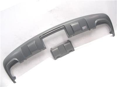 OEM 2004-2007 Volkswagen VW Touareg Rear Skid Plate Shield Anthracite Silver ABS
