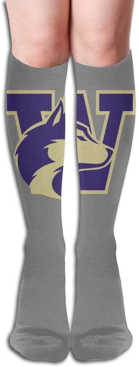 Uw Men's/Women's Comfortable Casual Funny Long Knee High Socks Compression Socks Winter Warm Soccer Socks