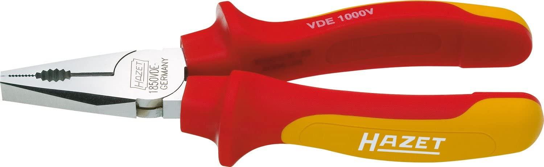 Hazet 1850VDE-44 Vde Combination Pliers, 7.87