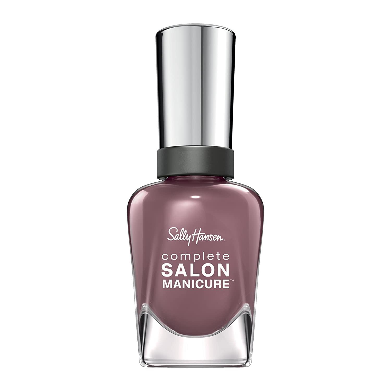 Sally Hansen Complete Salon Manicure Nail Polish, Plum's The Word, 0.5 Fluid Ounce