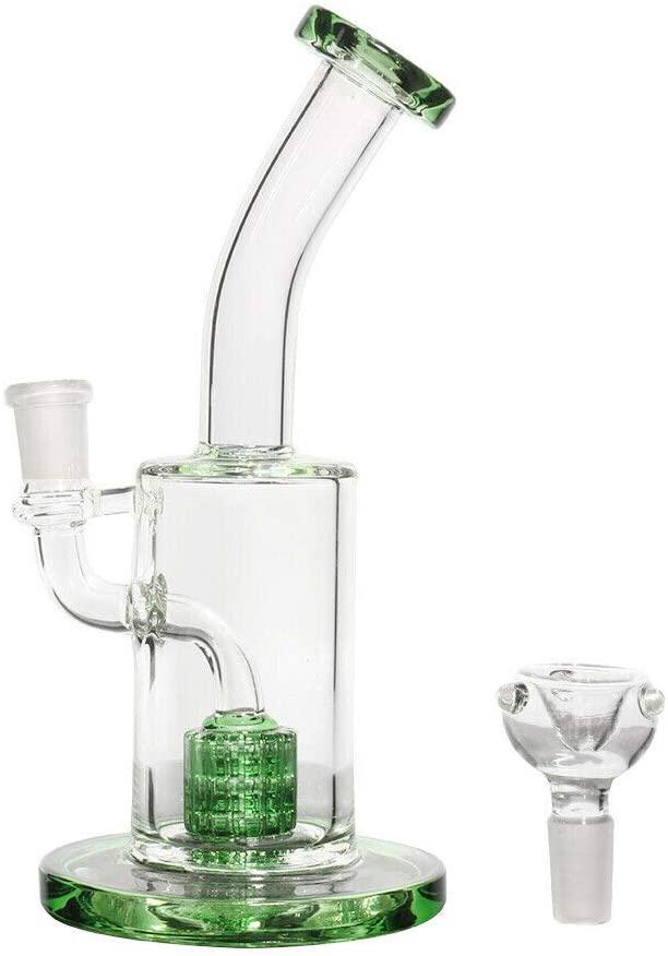 Yamun 8inch Glass Vase Handmade Glass Bottle Design