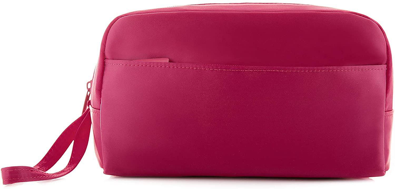 Cosmetic Bag – TravelBella Toiletry Bag for Women – Travel Make Up Bag - Makeup Bag - Pink