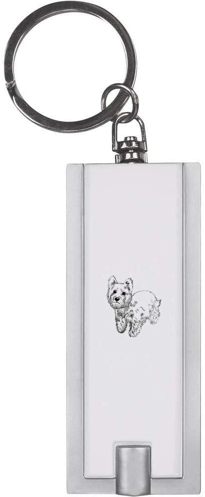 Azeeda 'Westie Dog' Keyring LED Torch (KT00005961)