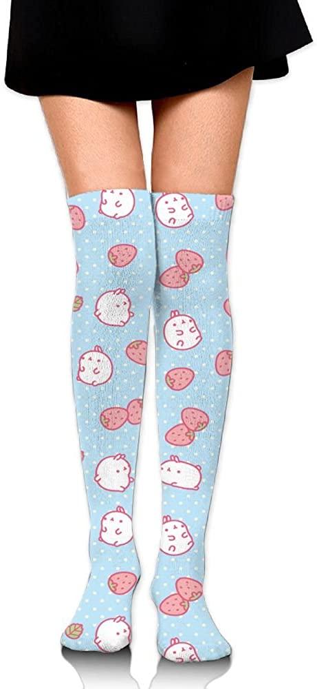 JINYOUR Kawaii Background Women's 60cm Knee High Socks Thigh High Stockings