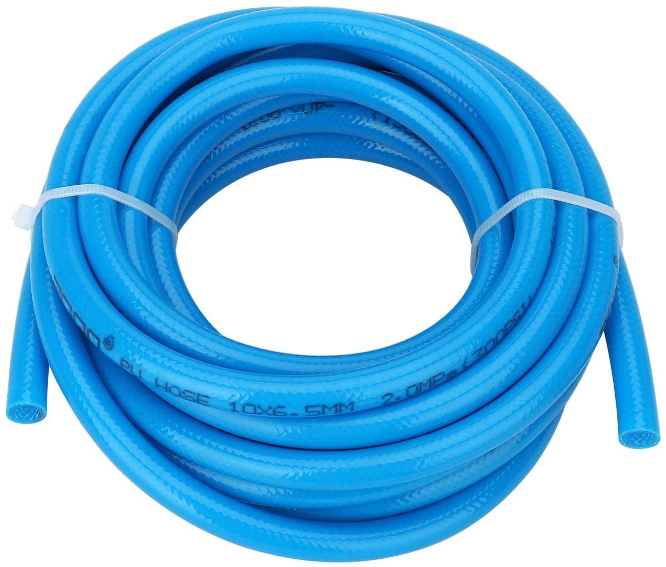 Surprecision PU Plastic Air Hose Tube (Extra Pressure) Length 5m(16.4ft) Dia 5mm/8mm Resist High-Temperature Abrasion