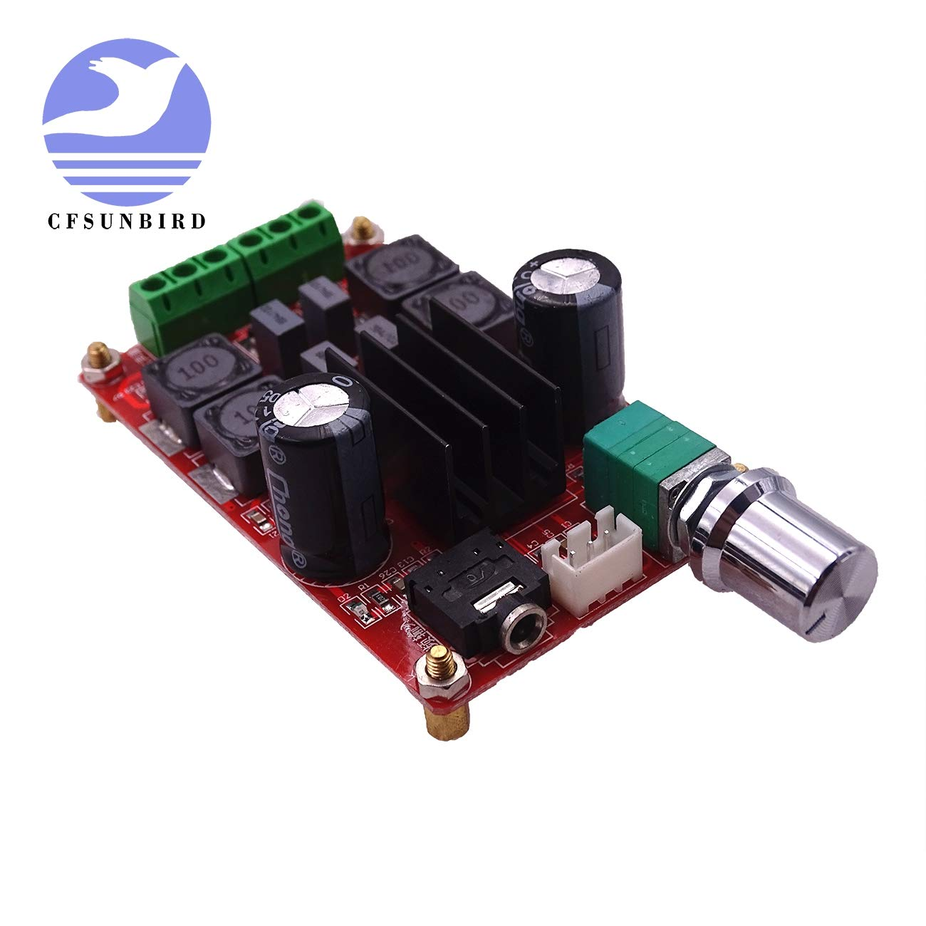 2x50W Digital Power Amplifier Board 5V to 24V Dual Channel Stereo AMP TPA3116D2 New Arrival