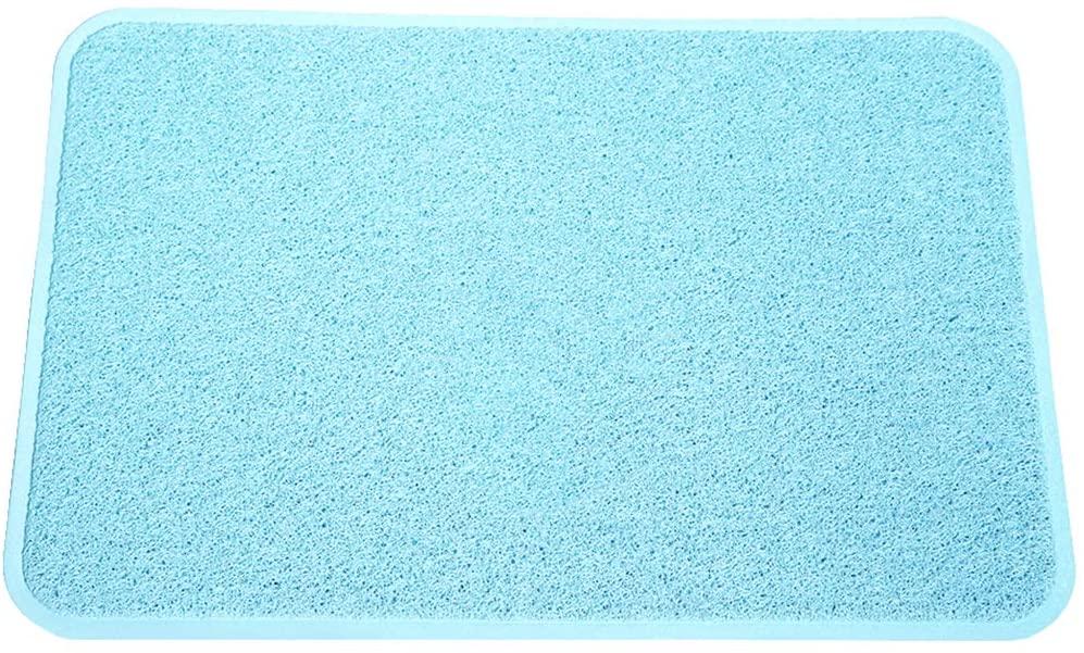 Smartcatcher Color Splash Collection Kitchen mats, 36x24 In, Baby Blue