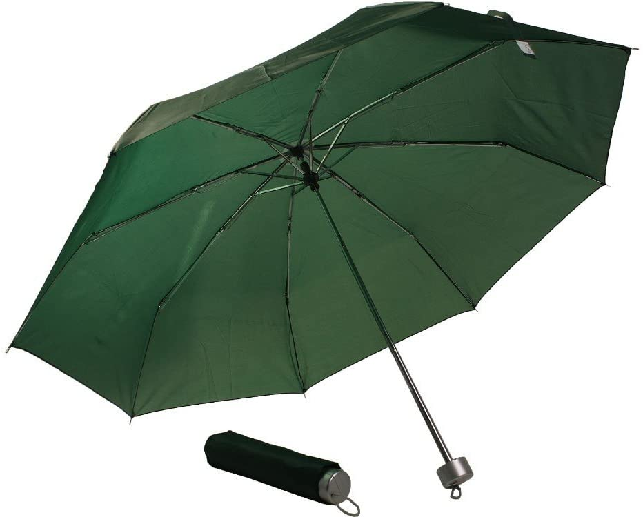New Ultra Light Exceed Short Umbrella The parasol Rain Umbrellas Hot Selling For Women And Men Rain Or Shine (Green)