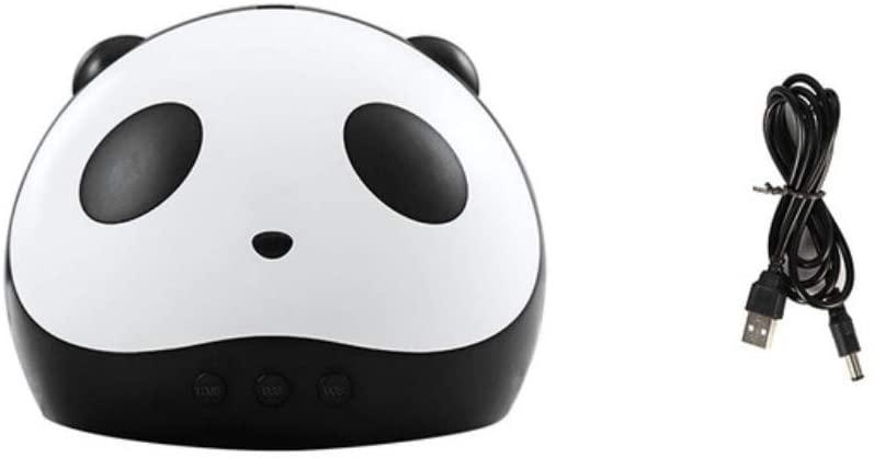 36W Panda Nail Art UV Lamp Gel Polishing Dryer Pedicure Nail Lamp USB Nail Art LED Light