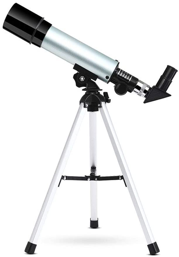 Doifck Astronomical Telescope for Kids Educational Science Refractor with Super Lightweight Tripod for Astronomy Beginners