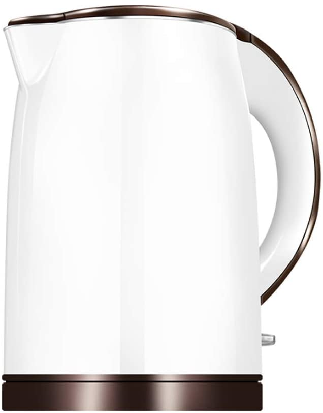 ZXYY Water Heater for 1.5 Liter Large Capacity Electric Kettle for Tea and Coffee with 1500W Stainless Steel Material - White