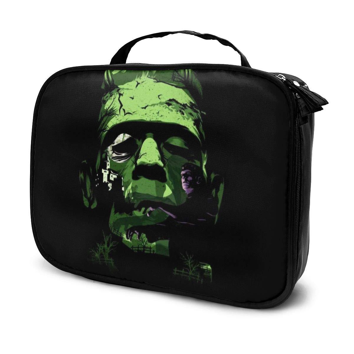 Makeup Bag Cosmetic Pouch Frankensteins Monster Multi-Functional Bag Travel Kit