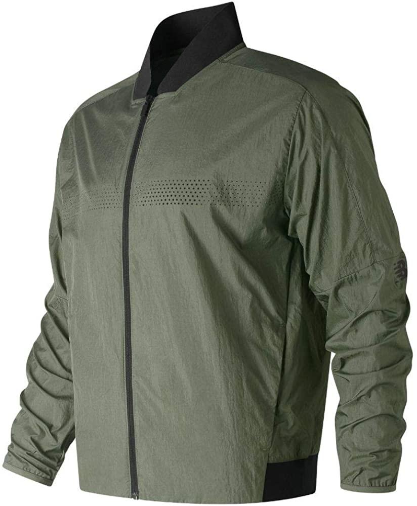 New Balance mens Sport Style Select Bomber Jacket