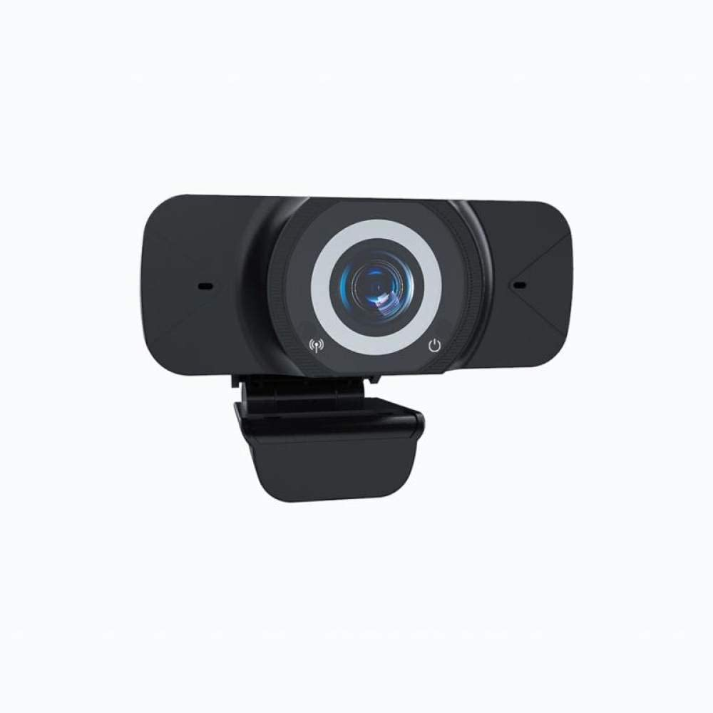 Auto Focus Webcam 1080P Streaming Web Camera with Noise Cancelling Microphone, Skype Web Cam Full HD for PC Laptop Computer, Wide Angle Autofocus