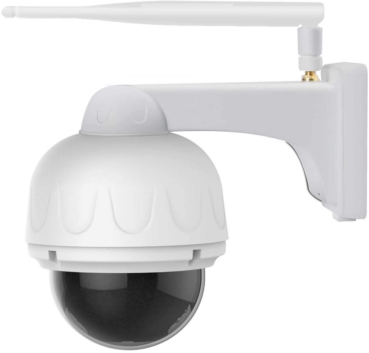 Redcolourful Vstarcam C32S-X4 1080P IP Camera 4X Zoom IP66 Waterproof Outdoor WiFi Camera Auto Focus PTZ CCTV Surveillance Security Camera IR Night UK Plug