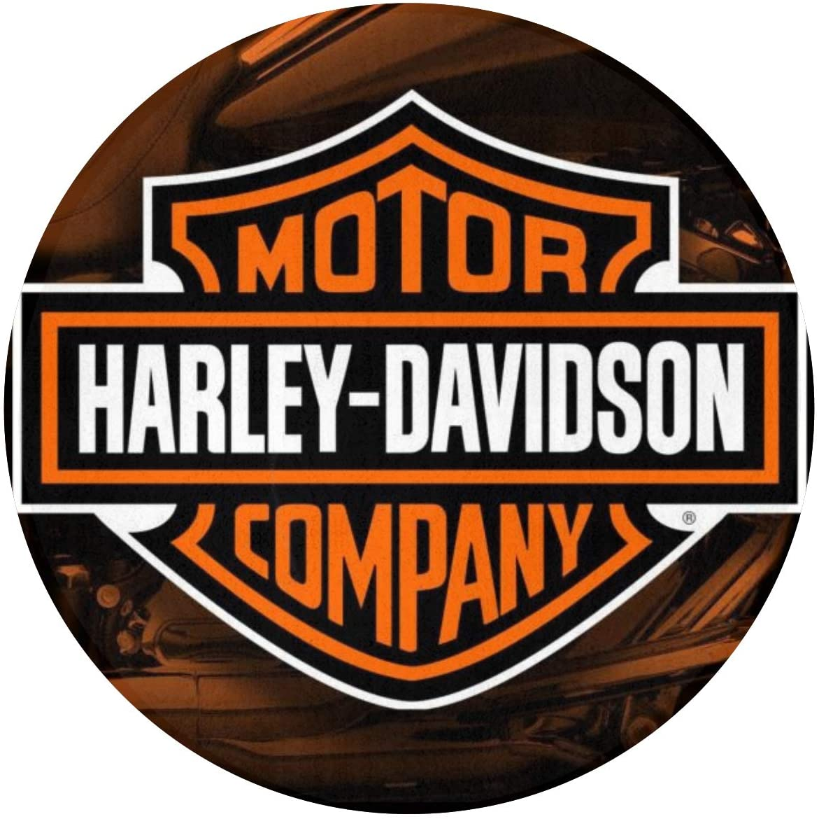 Harley Davidson Logonon-Slip Door Mat. It Can Remove Snow, Mud, Sand, Grass, Leaves And Dust From Shoes And Boots. The Bottom Non-Woven Fabric Is Plastic, Non-Slip, Thick And Durable 23.6 Inches