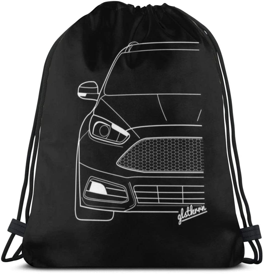 Backpack Drawstring Bags Cinch Sack String Bag Car Cool Quality Engine Sackpack For Beach Sport Gym Travel Yoga Camping Shopping School Hiking Men Women