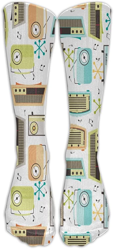 LzVong Unisex Long Socks Sound Comforable Knee High Stockings