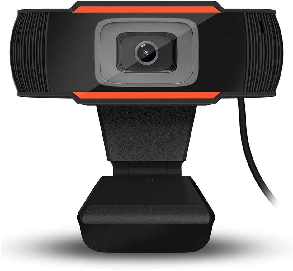 LLDWORK 1080P Webcam with Microphone PC Webcam USB Desktop & Laptop Webcam Digital USB Camera for Video Calling Recording Conferencing