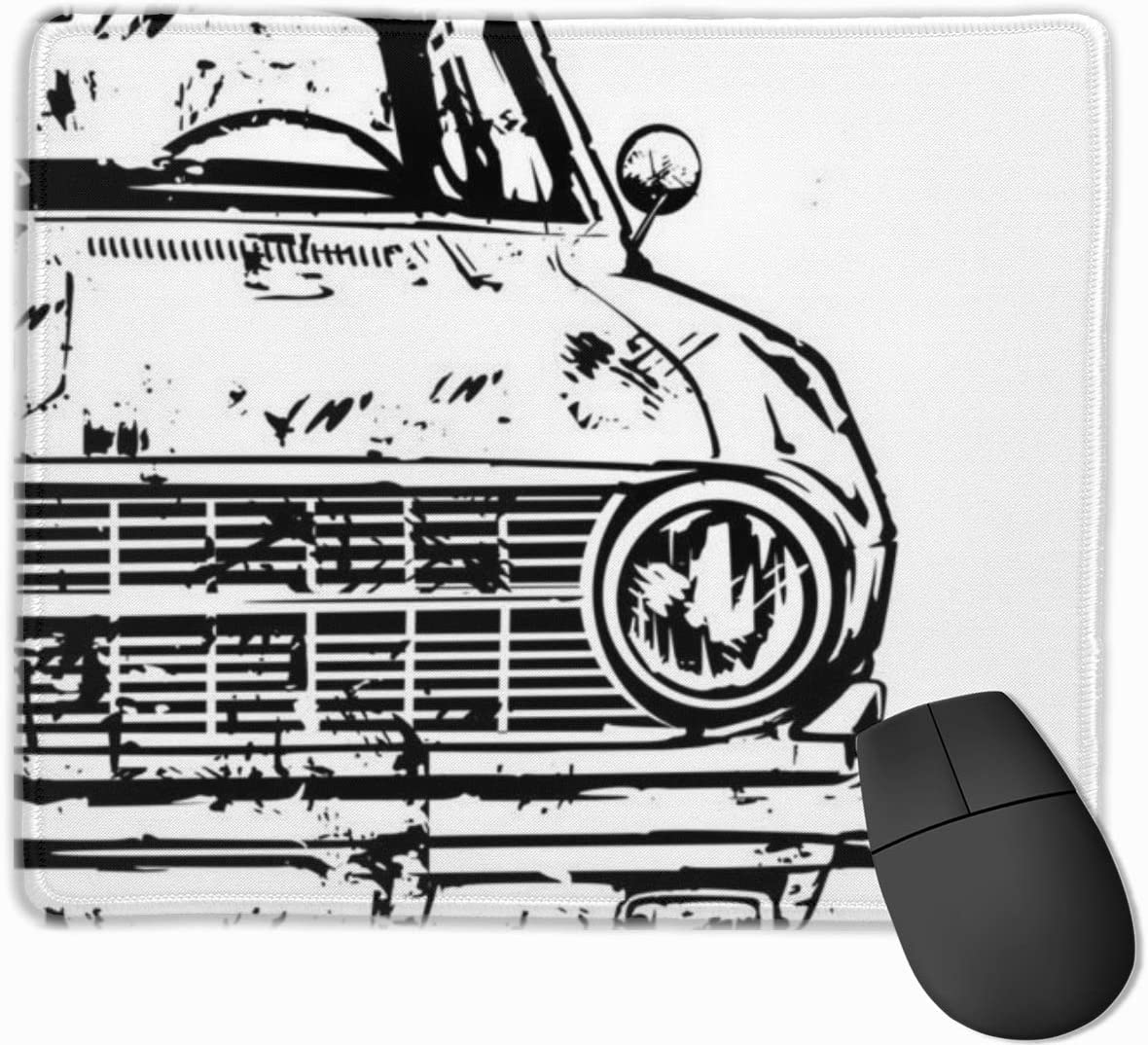Gaming Mouse Pads Non-Slip Rubber Base Mousepad Mouse Car Machinery Outstanding Cool Mat for Desktops Computer Office Laptops Polyester Silky Smooth Super Light Slip Rectangle