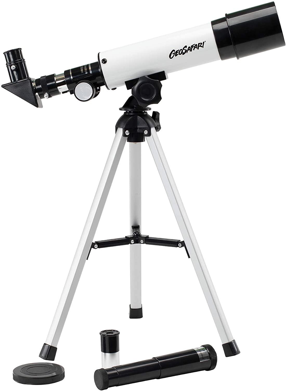 Educational Insights GeoSafari Vega 360 Telescope, Beginner Telescope for Kids & Adults, Supports STEM Learning, Great to Explore Space, Moon, Stars