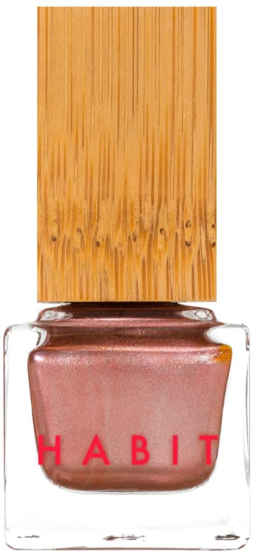 Habit Cosmetics Nail Polish - Serpentine Fire - Metallic Rose Gold - Non Toxic