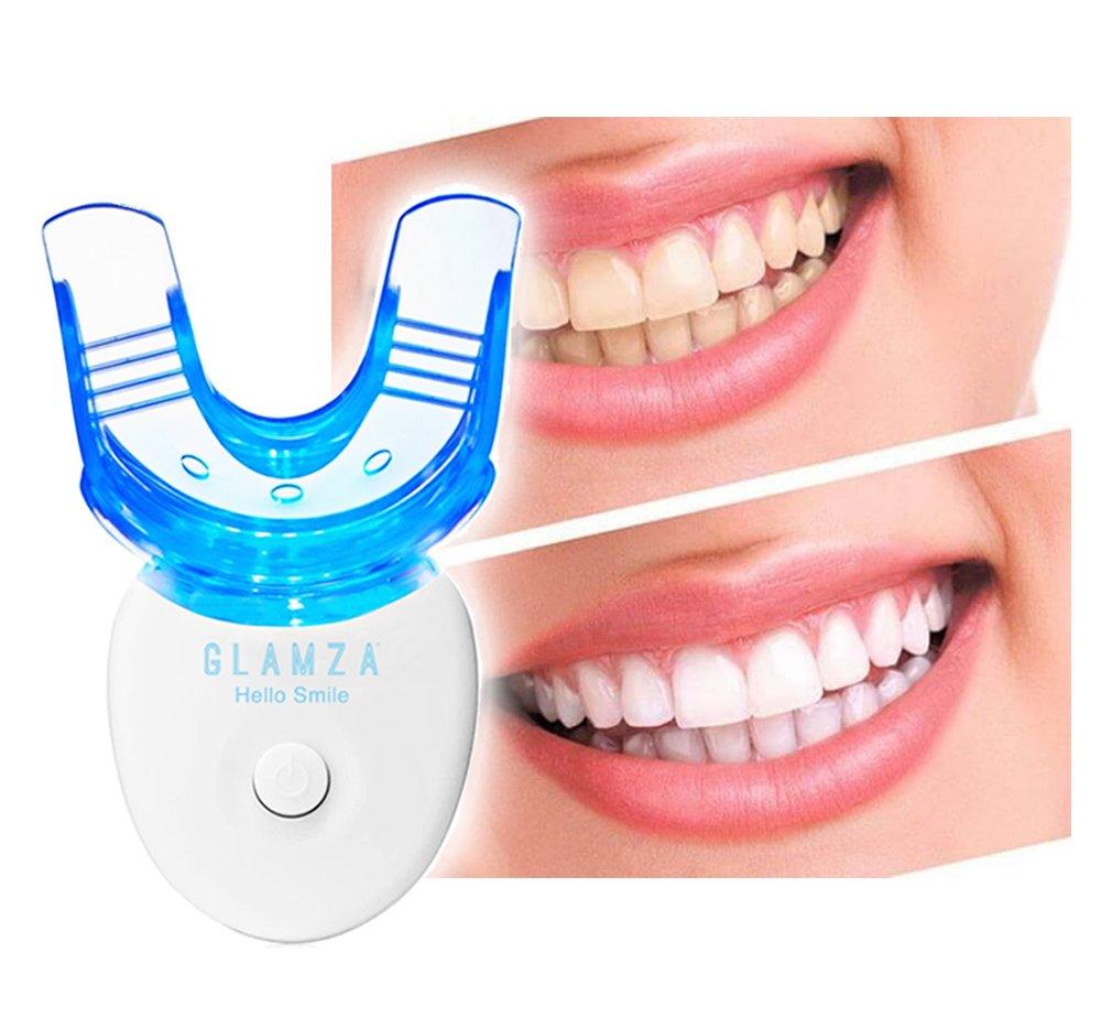 Glamza Hello Smile LED Laser Light Mouthguard for Teeth Whitening1 Units