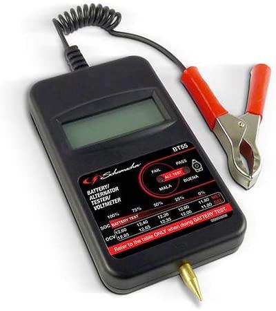 Schumacher BT55U 6/12/24V Compact Battery and 12V Alternator Tester